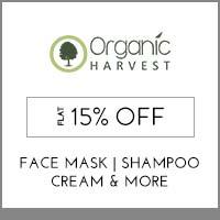 Organic HarvestFlat 15%