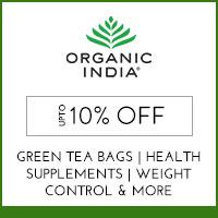 Organic IndiaUpto 10%