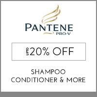 PanteneUpto 20% off
