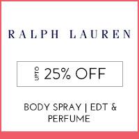 Ralph LaurenUpto 25%