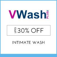 VWash200ml MRP 280 offer price 199/-