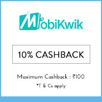 Mobikwik 10% cashback