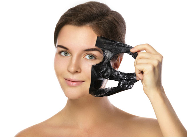 Charcoal Mask Peel Off Face Mask Cream Blackhead Remover Whitening
