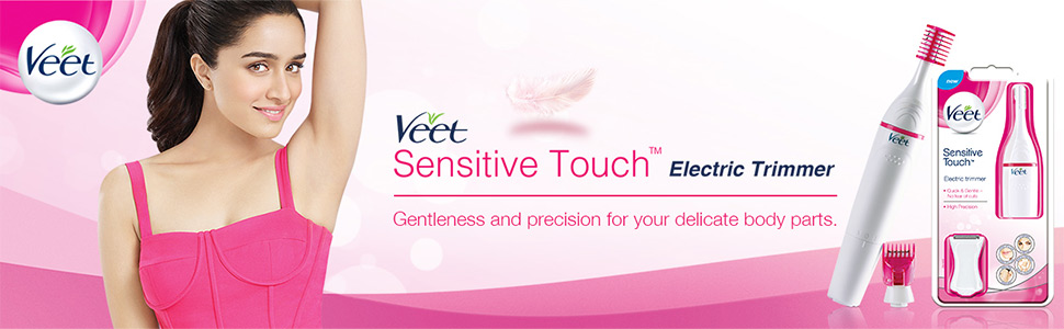 7f5685f5e Discover the benefits of using Veet sensitive Touch™ Beauty Trimmer: