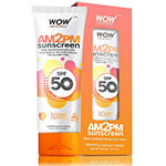 WOW Skin Science AM2PM Sunscreen SPF 50 Lotion (100ml)