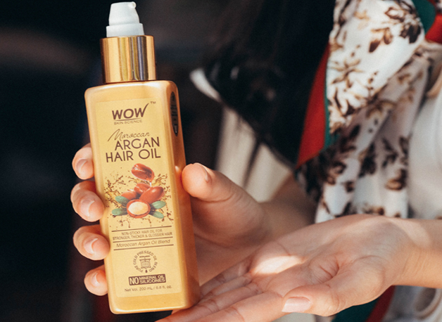 WOW Skin Science Moroccan Argan Hair Oil step3