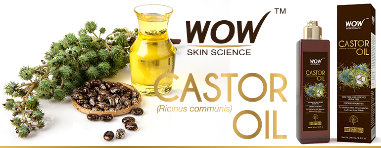 WOW Skin Science caster Seed Oil