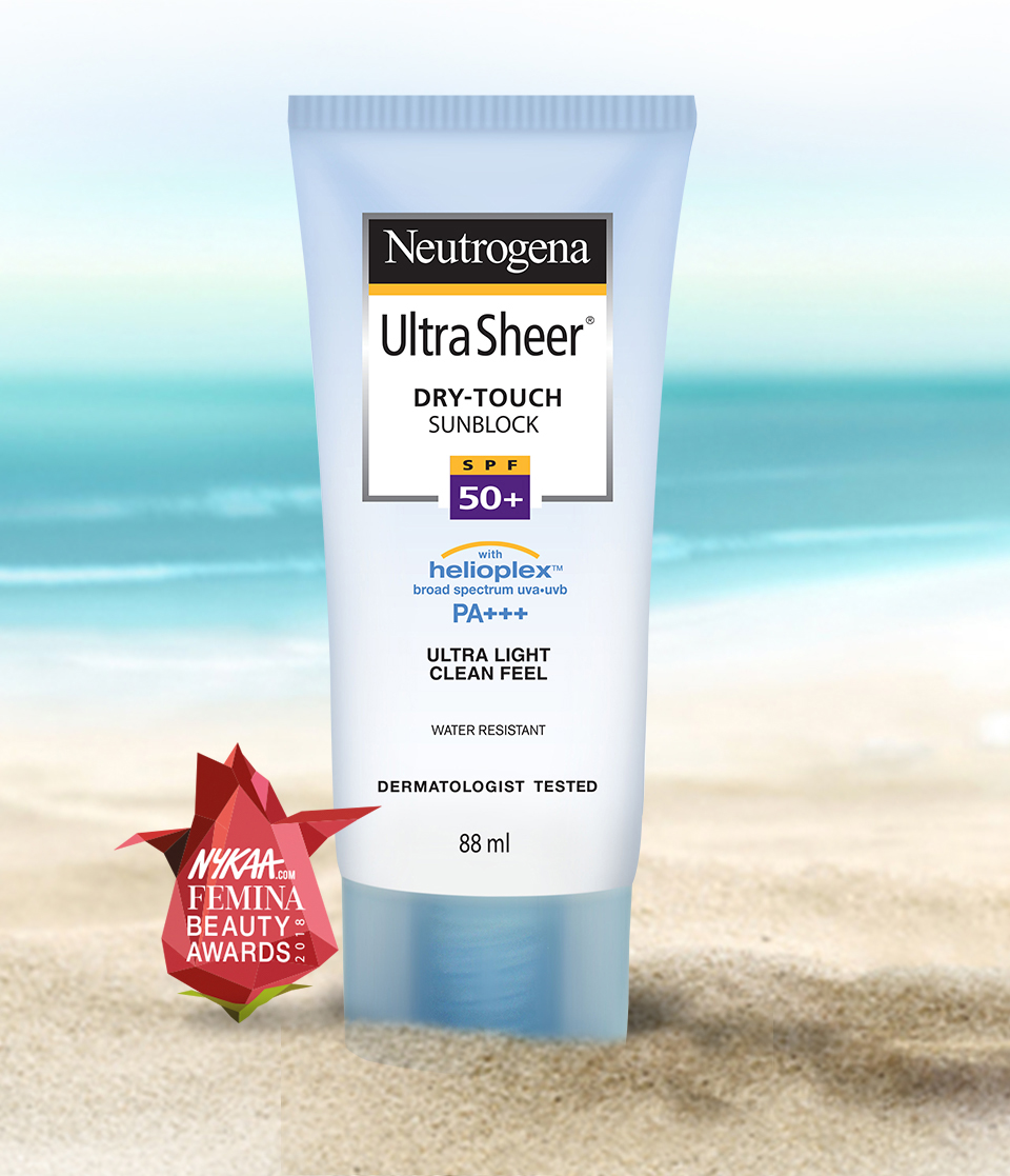 Neutrogena UltraSheer Dry Touch Sunblock SPF 50+: Buy Neutrogena UltraSheer  Dry Touch Sunblock SPF 50+ Online at Best Price in India   Nykaa