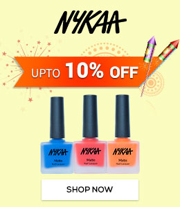 Get Online Offers on Nykaa Products Upto 10%