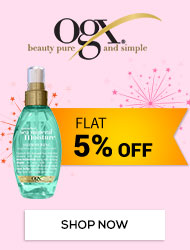 Get Online Offers on OGX Products Flat 5% off