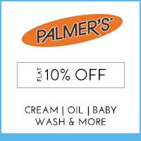 Get Online Offers on Palmers Products Flat 10% Off
