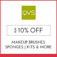 Get Online Offers on Qvs Products Flat 10%