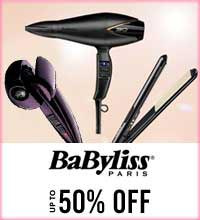 Get Online Offers on Babyliss Products Upto 50%