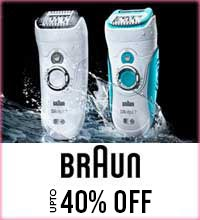Get Online Offers on Braun Products Upto 40%