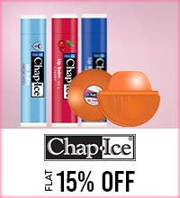 Get Online Offers on Chapice Products Flat 15%