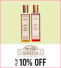 Get Online Offers on Gratia Products Flat 10%