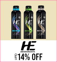 Get Online Offers on He Deodorant Products Upto 14%