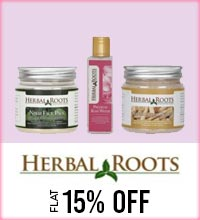 Get Online Offers on Herbal Root Products Flat 15%
