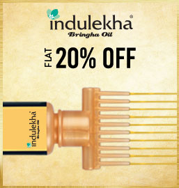 Get Online Offers on Indulekha  Products Flat 20%
