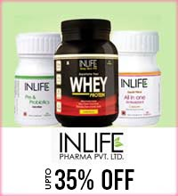 Get Online Offers on Inlife Products Upto 35%