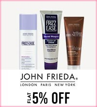 Get Online Offers on John Freida Products Flat 5%