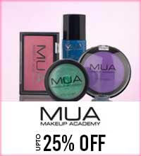 Get Online Offers on MUA Products Upto 25%