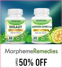 Get Online Offers on Morpheme Remedies Products Upto 50%