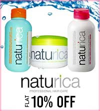 Get Online Offers on Naturica Products Flat 10%