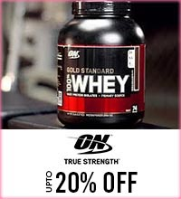 Get Online Offers on Optimum Nutrition Products Upto 20%