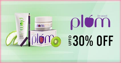 Get Online Offers on Plum Products Upto 30%