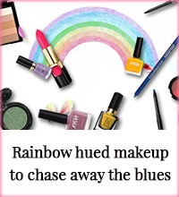 Get Online Offers on Rainbow Hued Makeup