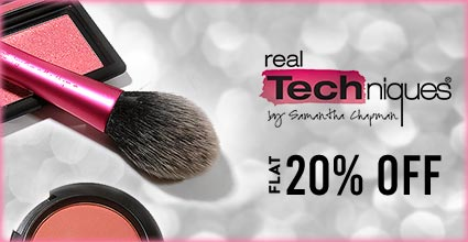 Get Online Offers on Real Techniques  Products Flat 20%