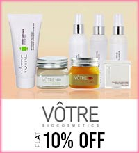 Get Online Offers on Votre Products Flat 10%