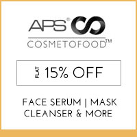 Get Online Offers on APS COSMETOFOOD Products Flat 10% off