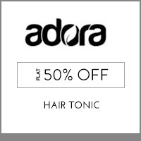 Get Online Offers on Adora Products Rs 25 off