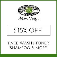 Get Online Offers on Aloe Veda Products Flat 10% off