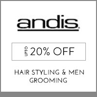 Get Online Offers on Andis Products Flat 10%