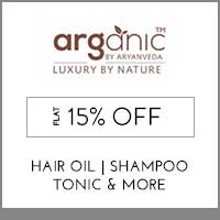 Get Online Offers on Arganic Products Flat 10% Off