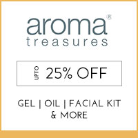 Get Online Offers on Aroma Treasures Products Upto 25% off