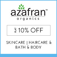 Get Online Offers on Azafran Organics Products Flat 40% (to be discontinued)