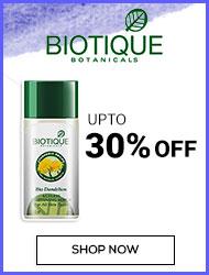 Biotique upto 30