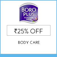 Get Online Offers on Boroplus Products Flat 10%