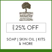 Get Online Offers on Breathe Aromatherapy Products Upto 10% off