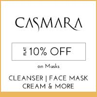Get Online Offers on Casmara Products Flat 10%