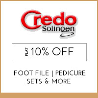 Get Online Offers on Credo Solingen Products Flat 50% off