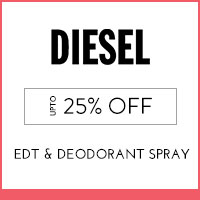 Get Online Offers on Diesel Products Upto 25% off