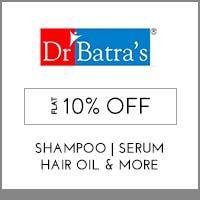 Get Online Offers on Dr.Batra's Products Flat 10%