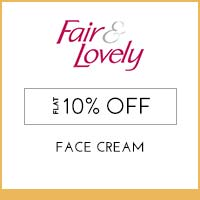 Get Online Offers on Fair And Lovely Products Upto 25% off