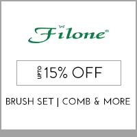 Get Online Offers on Filone Products Flat 15% Off