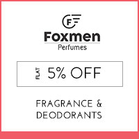 Get Online Offers on Foxmen Products Flat 10% off
